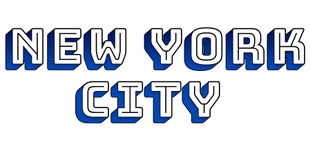 "In this example, we load PNG text written in Bungee Shade font that says ""New York City"" in the input field and create transparent text from it by removing its background. To make the background transparent, we specify the hexadecimal color code ""FFFFFF"", which corresponds to the white color in the options. Also, as the text is in raster format, there are darker pixels near white ones, and to remove them as well, we specify 18% fuzzy matching of white tones. The resulting outline of the font can be used as a watermark on photos and pictures or digital documents."